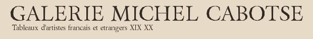 The Michel Caboste Gallery logo